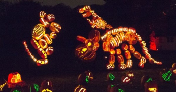 Amazing Carved Pumpkins