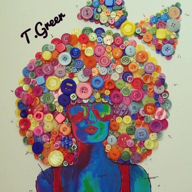 Creative Buttons Art3
