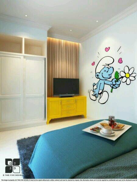 Nice Smurf Bedrooms4