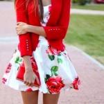 Rose Print Dresses
