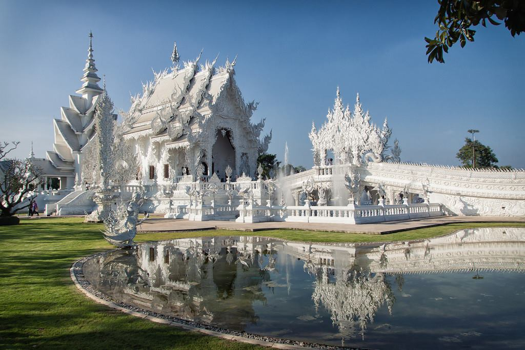 The White Temple, Wat Rong Khun, Thailand