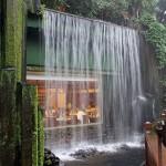 Beautiful Waterfall Restaurant