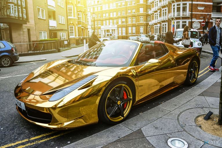 golden ferrari