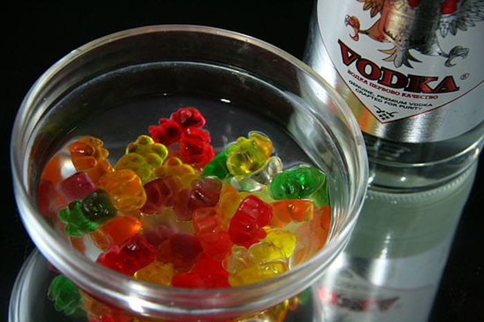 gummy bears and vodka2