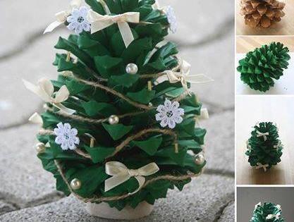 Christmas Idea With Cones