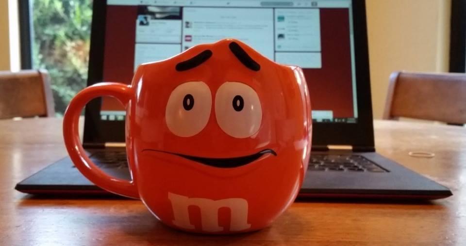 Coffee mugs, M&M's-2