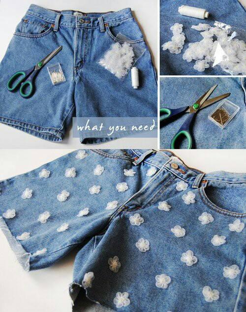 DIY Short Jeans2
