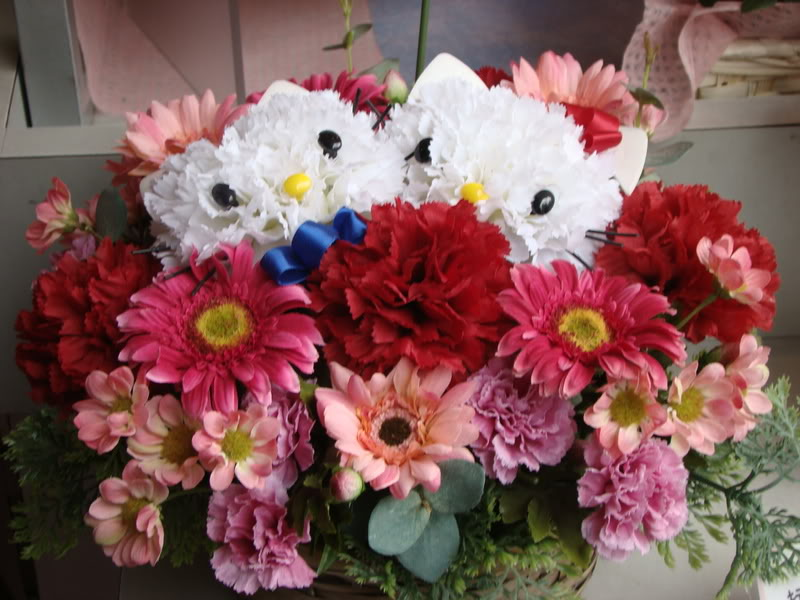Hello kitty bouquets2