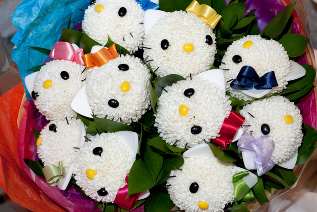 Hello kitty bouquets3