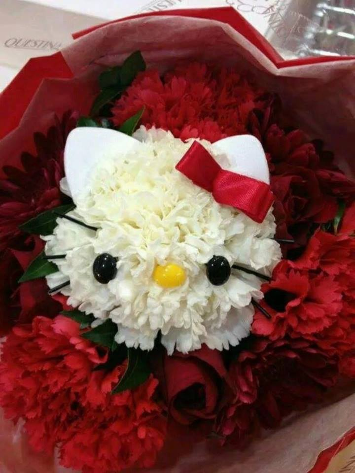 Hello kitty bouquets4