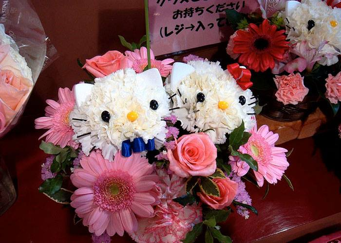 Hello kitty bouquets5