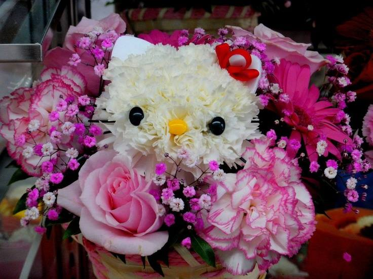 Hello kitty bouquets6