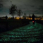 Solar-Powered Glowing Bicycle Path, Netherlands