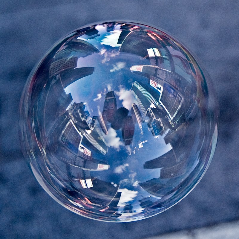 The World in a Bubble8