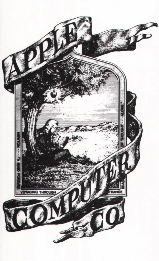 The very first Apple Company logo
