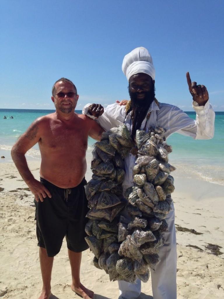 Weed dealer in Jamaica