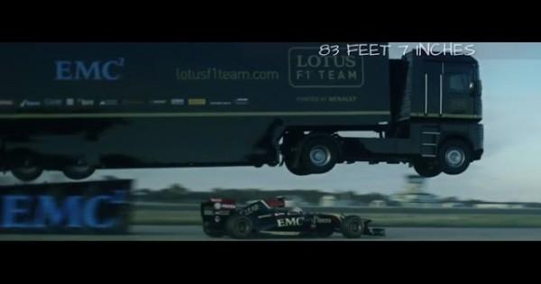 Epic World-Record Truck Jump