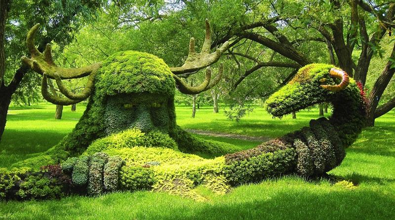 botanical garden, montreal canada
