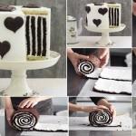 Chocolate Stripe Cake, mm!