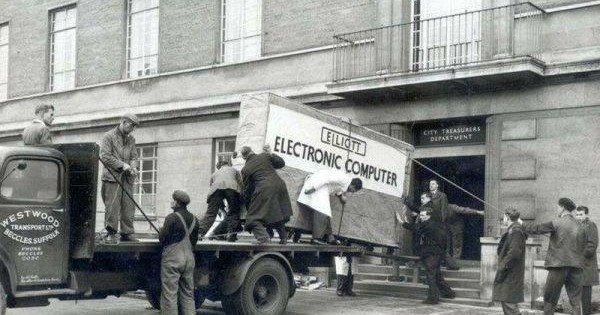 Computer Delivery, 1950s