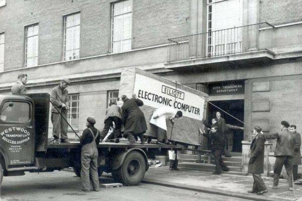 computer delivery 1950