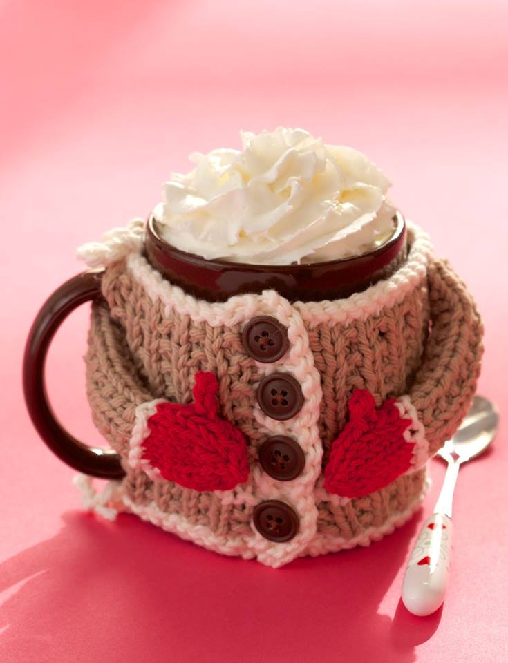 crochet christmas mugs6