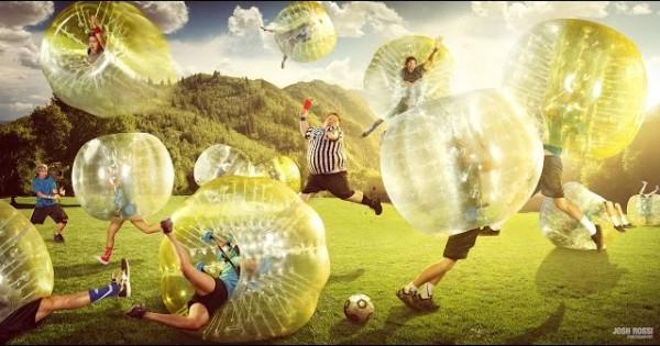 Amazing Zorb Soccer