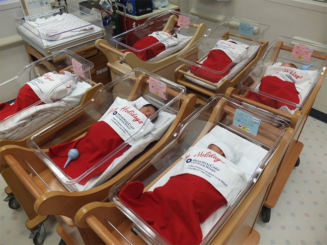 Babies Born On Christmas Were Sent Home In These Adorable Stockings3