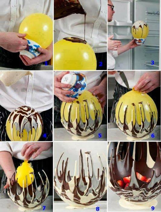 Chocolate Bowls with Balloon 2