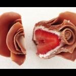 DIY, Chocolate Strawberry Roses