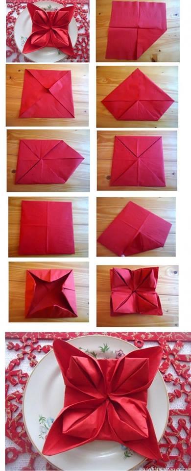 DIY Napkin Fold2