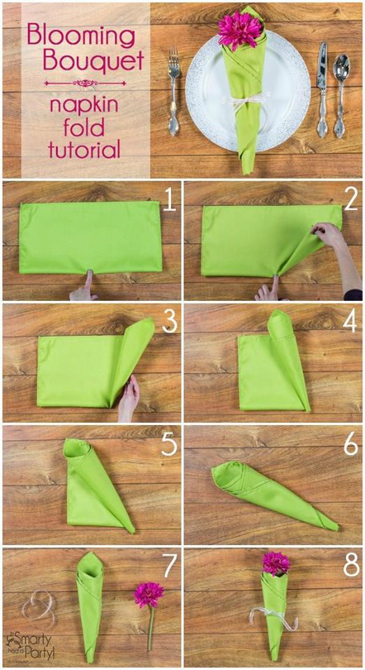DIY Napkin Fold6
