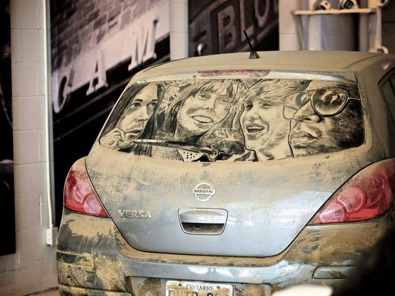 Dirty Cars Turned into Works of Art2