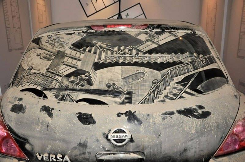 Dirty Cars Turned into Works of Art3