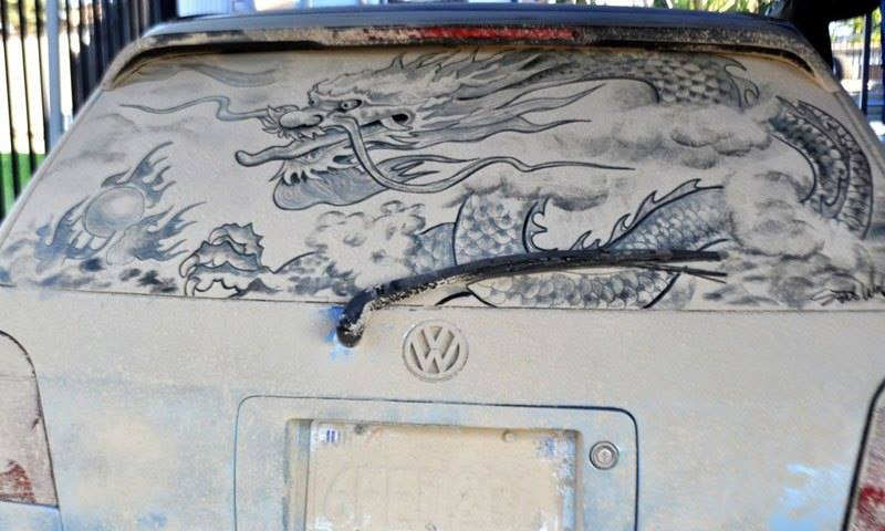Dirty Cars Turned into Works of Art6