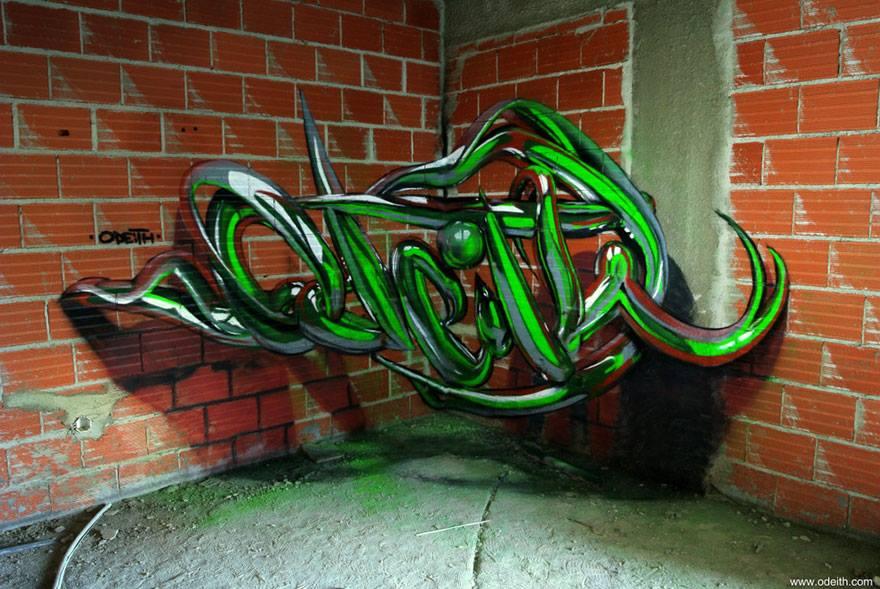 Street Artist Creates Stunning 3D Graffiti 3