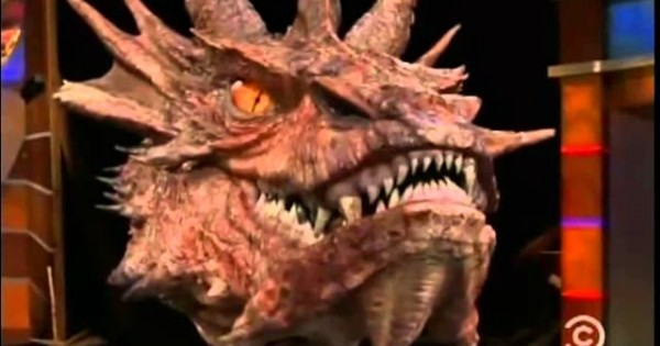 Watch Stephen Colbert Interview Smaug From The Hobbit