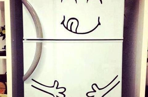 Cute Fridge Idea