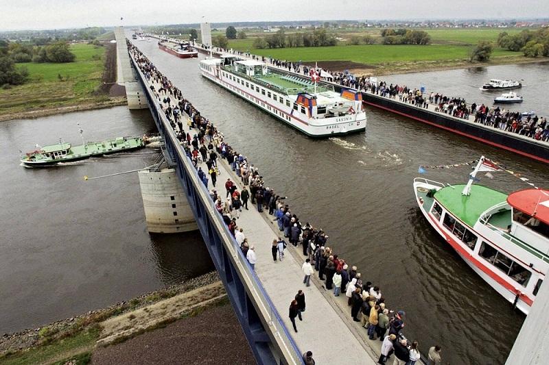 river bridge, germany