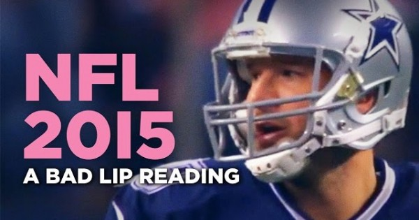 A Bad Lip Reading Of The NFL
