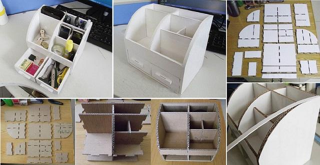 DIY Easy Office Organizer9
