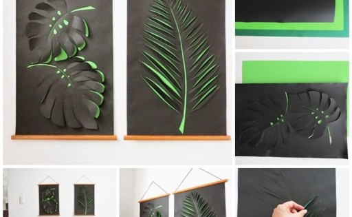 DIY, Paper Wall Art