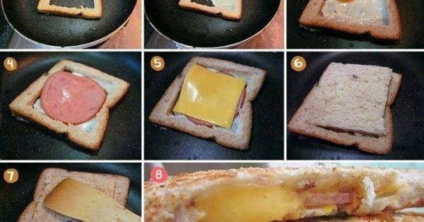 Easy Delicious Sandwich, DIY