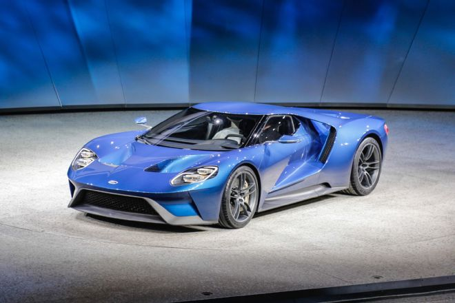 Ford GT Revealed in Detroit