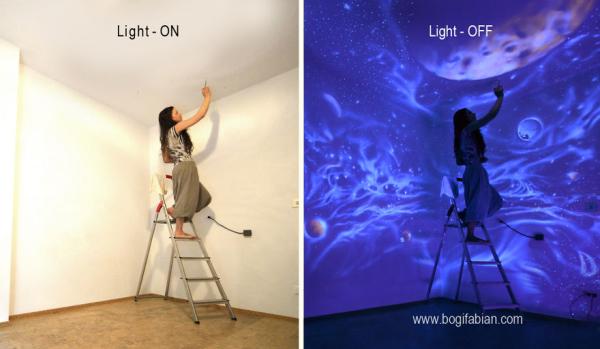 Glowing Murals