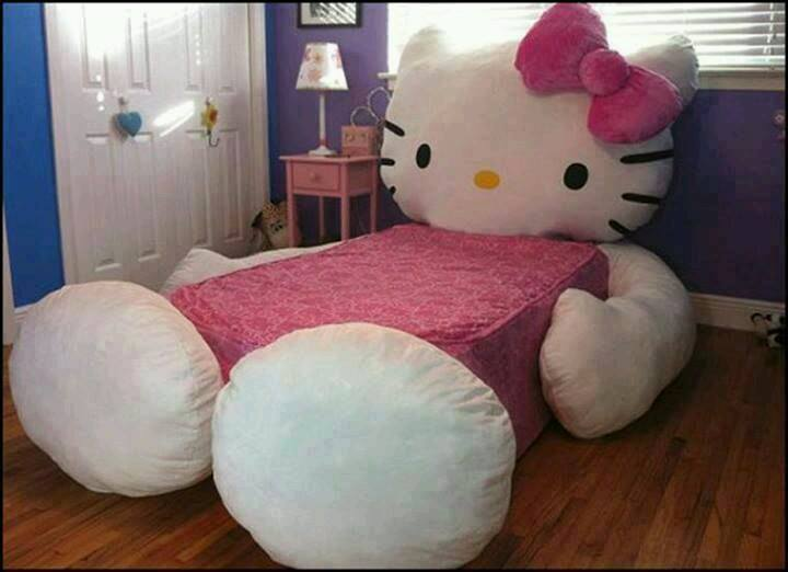 Hello Kitty Bed For Girls