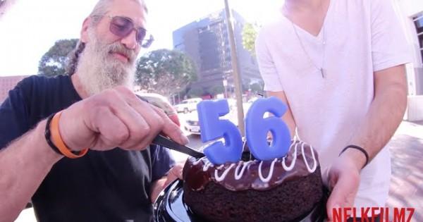 Homeless Man's Birthday