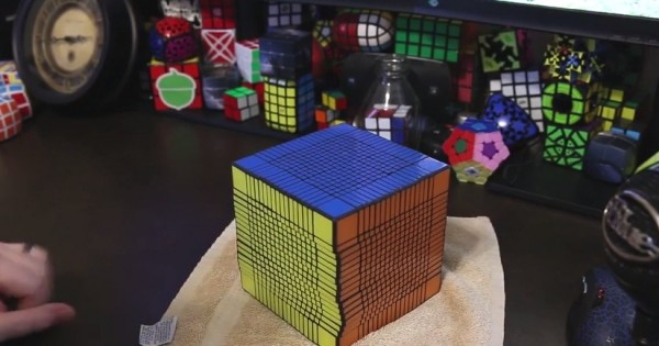 How To Solve The World's Largest Rubik's Cube 17x17x17