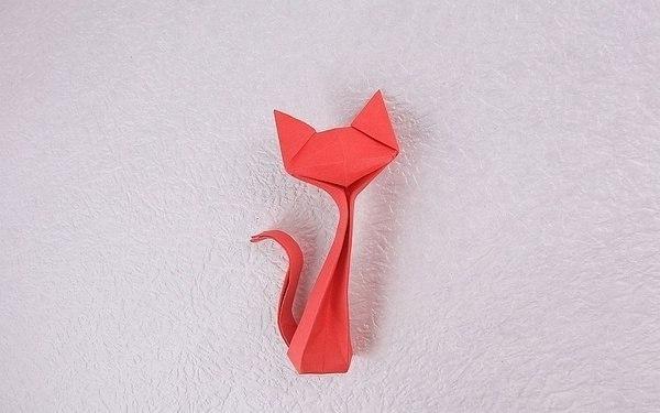 Kitty Origami