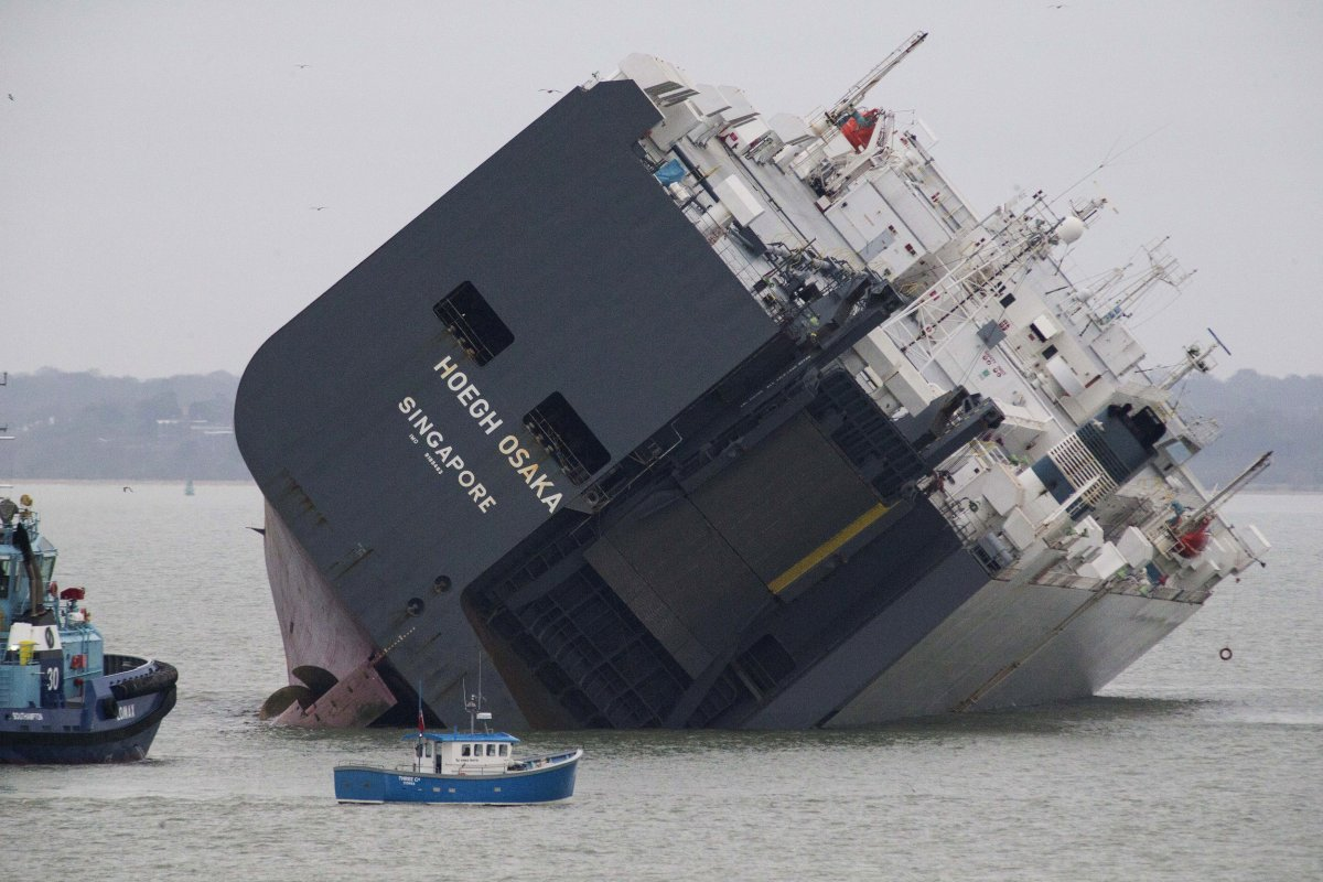 Nearly $53 Million Worth Of Luxury Cars May Be Scrapped From Tilted Cargo Ship